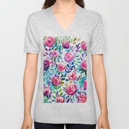 Spring Bouquet Unisex V-Neck