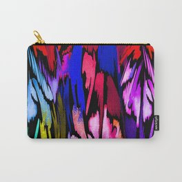Feather Rainbow Carry-All Pouch