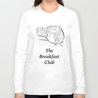 breakfast club Long Sleeve T-shirts featuring The Breakfast Club  by Luster