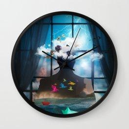 Melancholia by GEN Z Wall Clock