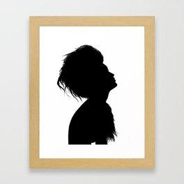 Siluette Framed Art Print