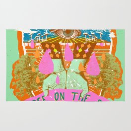 PEACE ON THE RISE Rug