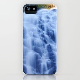 Crabtree Falls at Golden Hour iPhone Case