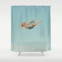 Freefall Shower Curtain