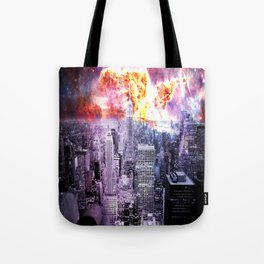 New York City : Parallel Dimension  Tote Bag