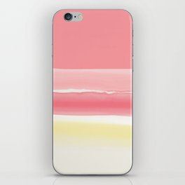 Watercolor summer afternoon iPhone Skin