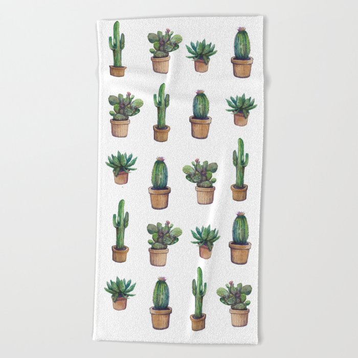 cactus pink, original version are BAck!! Beach Towel