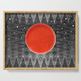 Bodacious Blood Moon Serving Tray