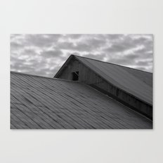 on the horizon Canvas Print