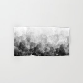 Ombre Smoke Clouds Minimal Hand & Bath Towel