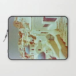 Santorini in Raspberry and Blue II: shot using Revolog 600nm special effects film Laptop Sleeve