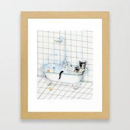 DO NOT DISTURB 2 Framed Art Print