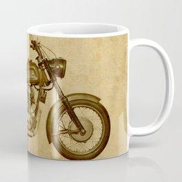 Ducat Condor 350 Militare 1973 old motorcycle militar war bike Coffee Mug