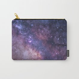 Dark Purple Galaxy Carry-All Pouch