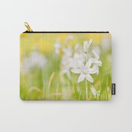White Ornithogalum nutans pretty bloom Carry-All Pouch