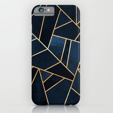 Navy Stone Slim Case iPhone 6