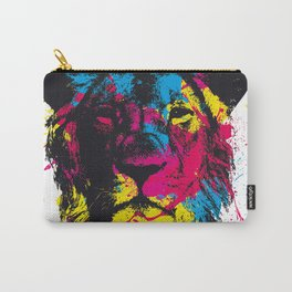 COLORED LION Carry-All Pouch