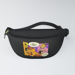 Im leaving, please no! Cat lady Fanny Pack