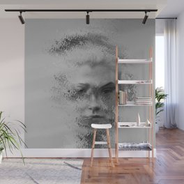 The Unknown selfie Wall Mural