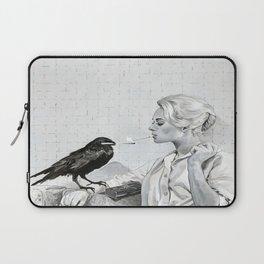 Alfred Hitchcock The Birds Print  Tippi Hedren Print The Birds Poster Laptop Sleeve