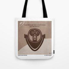 No217 My Oblivion minimal movie poster Tote Bag
