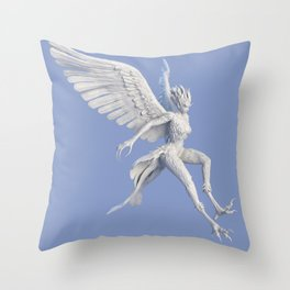 Syrenox Throw Pillow