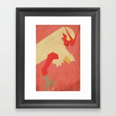Blaziken  Framed Art Print