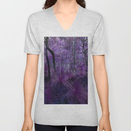 Conway National Park in Purple Unisex V-Neck