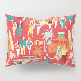 Hawaii elegance in action Pillow Sham