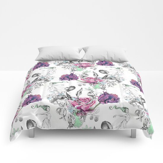 FLORAL GUST Comforters