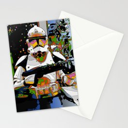 Funky Trooper Stationery Cards