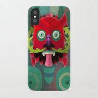 diablo iPhone & iPod Cases featuring Diablo by Blanca Limón
