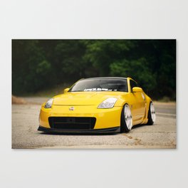 Yellow Fever Z Canvas Print