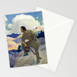 """""""The Oregon Trail"""" by NC Wyeth Stationery Cards"""