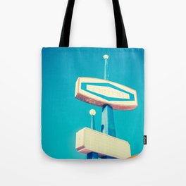 Faded Signs Retro Vintage Sign Tote Bag