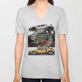 Concept car - Supercar Unisex V-Neck