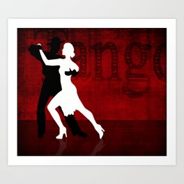Tango Series 2 Art Print