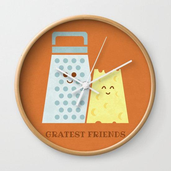 Cheesy Friendship Wall Clock