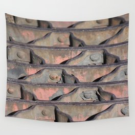 Grate Curves Wall Tapestry