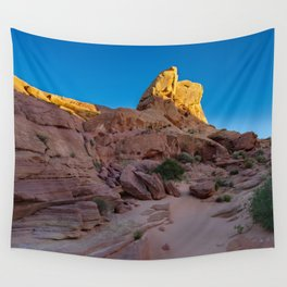 Colorful Sandstone, Valley of Fire - IIIa Wall Tapestry