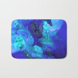Violet Blue - Abstract Art By Sharon Cummings Bath Mat