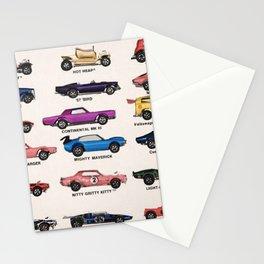 1969 Vintage Hot Wheels Redline Dealer's Store Display Poster Stationery Cards
