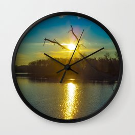 Its' Up, and Its Good! Wall Clock