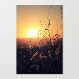 Sunset in Payson II Canvas Print