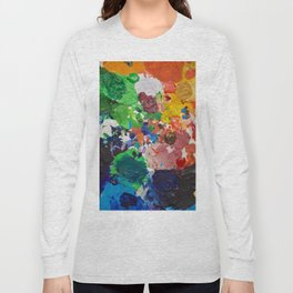Palette of Colors Long Sleeve T-shirt