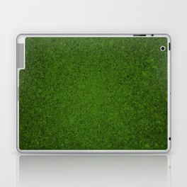 Emerald Green Sparkling Jewels Pattern Laptop & iPad Skin