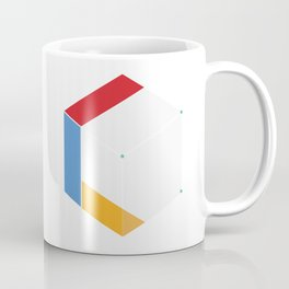 Premade Logo - Cube Connected Coffee Mug