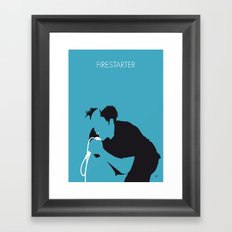 No045 MY The Prodigy Minimal Music poster Framed Art Print