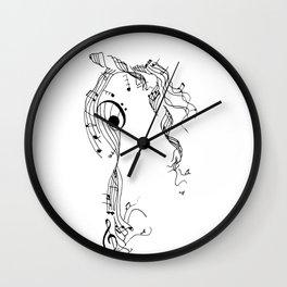 Unwound Wall Clock