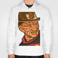 freddy krueger Hoodies featuring Freddy Krueger by Art of Fernie